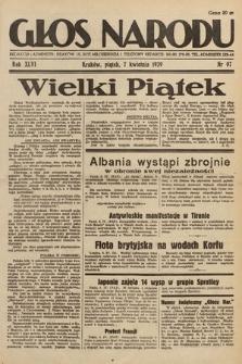 Głos Narodu. 1939, nr97