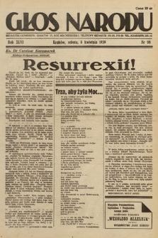 Głos Narodu. 1939, nr98