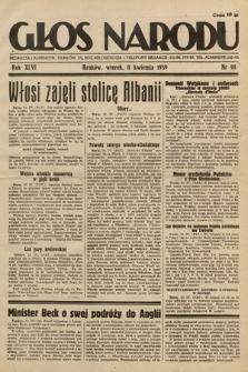 Głos Narodu. 1939, nr99