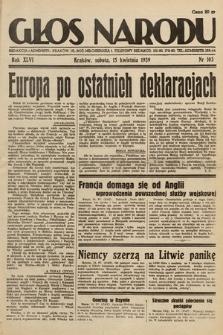 Głos Narodu. 1939, nr103