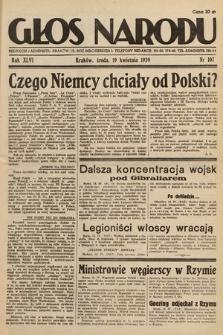 Głos Narodu. 1939, nr107