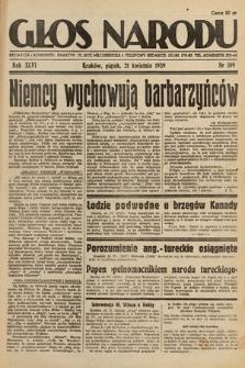 Głos Narodu. 1939, nr109