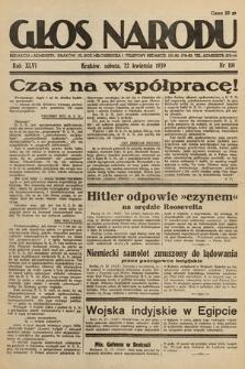 Głos Narodu. 1939, nr110