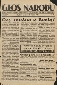 Głos Narodu. 1939, nr111