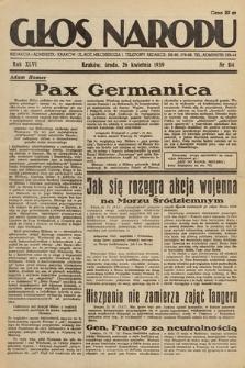 Głos Narodu. 1939, nr114