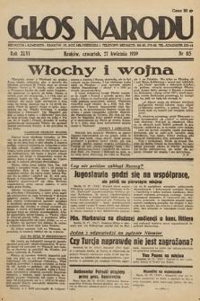 Głos Narodu. 1939, nr115