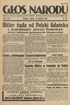 Głos Narodu. 1939, nr117