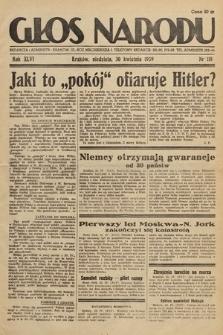 Głos Narodu. 1939, nr118