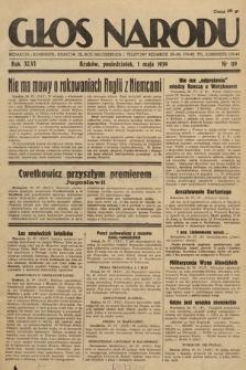 Głos Narodu. 1939, nr119