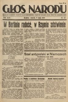 Głos Narodu. 1939, nr127