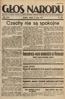 Głos Narodu. 1939, nr130
