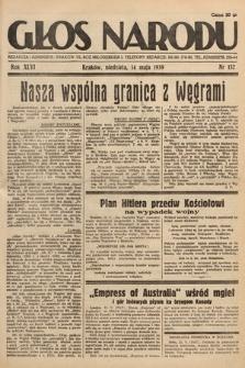 Głos Narodu. 1939, nr132