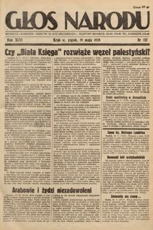 Głos Narodu. 1939, nr137