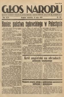 Głos Narodu. 1939, nr139