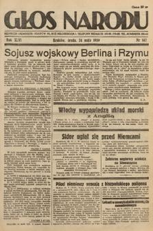 Głos Narodu. 1939, nr142