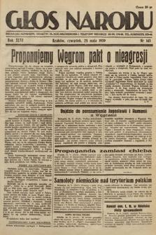 Głos Narodu. 1939, nr143