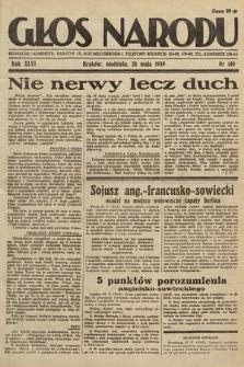 Głos Narodu. 1939, nr146