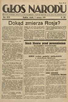 Głos Narodu. 1939, nr150
