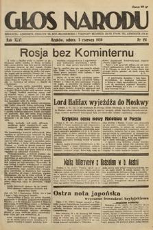Głos Narodu. 1939, nr151