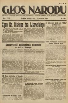 Głos Narodu. 1939, nr153