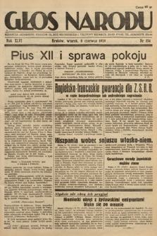 Głos Narodu. 1939, nr154