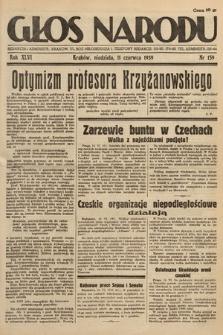 Głos Narodu. 1939, nr159