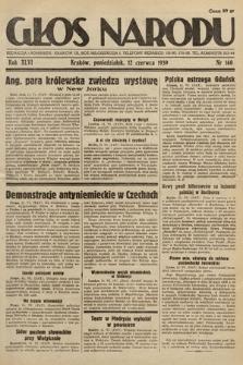 Głos Narodu. 1939, nr160
