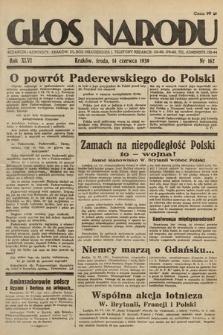 Głos Narodu. 1939, nr162
