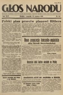 Głos Narodu. 1939, nr163