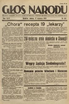 Głos Narodu. 1939, nr165