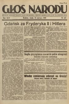 Głos Narodu. 1939, nr169