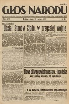Głos Narodu. 1939, nr176