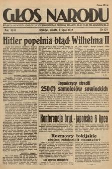 Głos Narodu. 1939, nr179