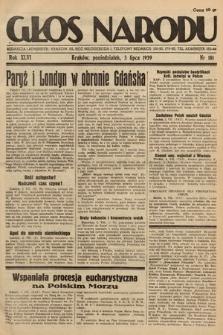 Głos Narodu. 1939, nr181