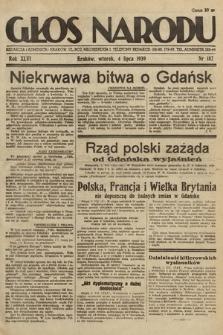 Głos Narodu. 1939, nr182
