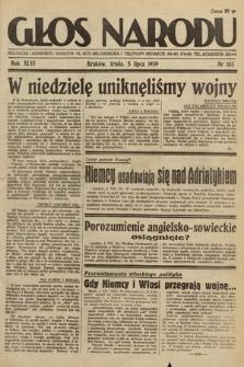 Głos Narodu. 1939, nr183