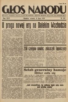 Głos Narodu. 1939, nr189