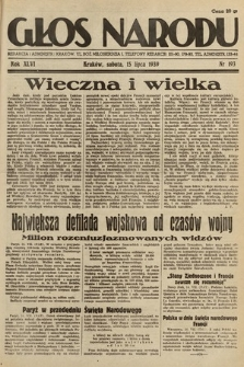 Głos Narodu. 1939, nr193