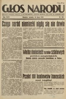 Głos Narodu. 1939, nr196