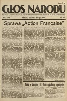 Głos Narodu. 1939, nr198
