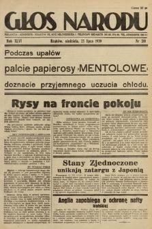 Głos Narodu. 1939, nr201