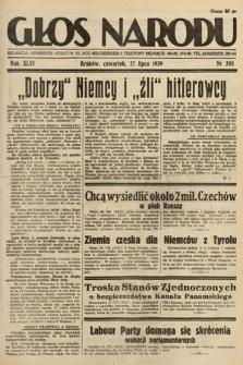 Głos Narodu. 1939, nr205
