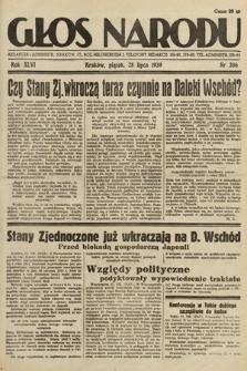 Głos Narodu. 1939, nr206