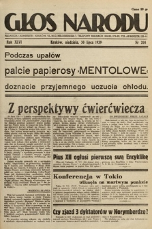 Głos Narodu. 1939, nr208
