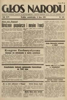 Głos Narodu. 1939, nr209