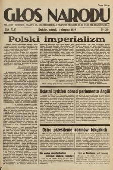 Głos Narodu. 1939, nr210