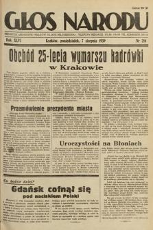 Głos Narodu. 1939, nr216