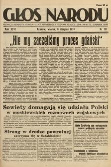 Głos Narodu. 1939, nr217