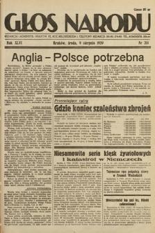 Głos Narodu. 1939, nr218