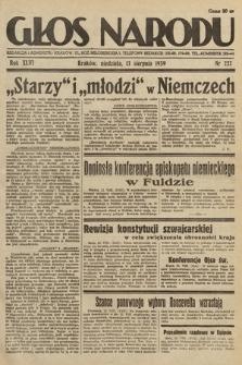 Głos Narodu. 1939, nr222